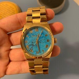 Michael Korda Turquoise Watch